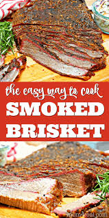 how to smoke brisket the easy way