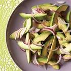 avocado and onion salad