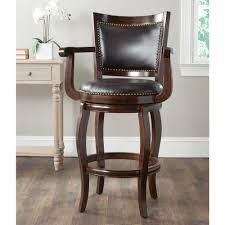 bar stools home depot. Espresso Swivel Cushioned Bar Stool Stools Home Depot O