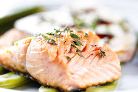 cooked salmon fillet. Plain Salmon With Cooked Salmon Fillet M