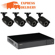 8-Channel 1080p 1TB Video Surveillance System with 4 HD Bullet Cameras and 100 ft. Night Vision Q-SEE