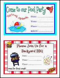 Free Pool Party Invitations Printable Free Printable Pool Party Birthday Invitations Lovely Free