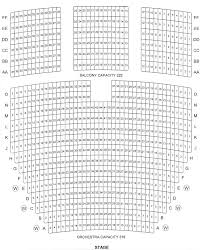 Seating Chart Downey Theatre