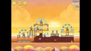 Angry Birds Rio Golden Beachball Level #21 Walkthrough - YouTube