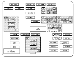 cadillac escalade mk2 second generation 2003 2004 fuse box cadillac escalade mk2 second generation 2003 2004 fuse box diagram