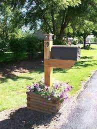 landscaping around mailbox post. Mailbox With Flower Box Best 25 Planter Ideas On Pinterest Landscaping Around Post