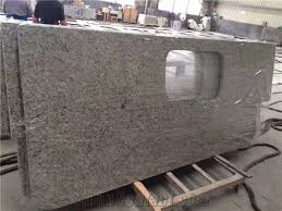 brazil granite countertops galaxy white vanity tops for kitchen island worktops in stadnard size high polished good edges finished factory