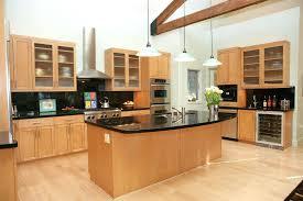light maple cabinets modern kitchen with dark granite and light maple cabinets dark kitchen cabinets with