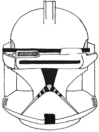 clone trooper coloring pages stormtrooper helmet page az