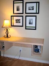 collapsible wall shelf floating workstation floating wall desk