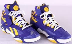 reebok basketball shoes pumps. shaquille o\u0027neal signed reebok \ basketball shoes pumps a