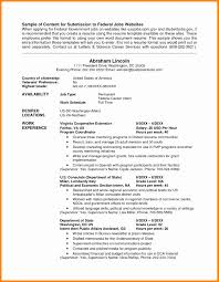 Federal Resume Example 62 Images Usa Jobs Resume Format Ideas Of