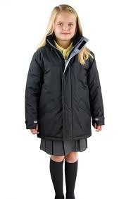eco school wear uniform waterproof padded coat parka jacket long fit quick dry eco school wear uniform waterproof padded coat parka jacket long fit
