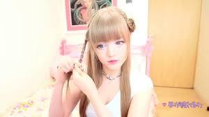 اجمل تسريحات االسريعة مع الفتاة اليابانية الدمية الرائعة