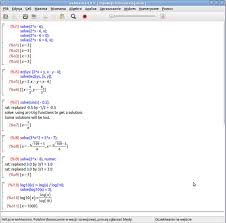 picture of equation solving