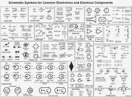 schematic symbols for common electronics and electrical components schematic symbols of circuitry see actual website for audio led others so cool