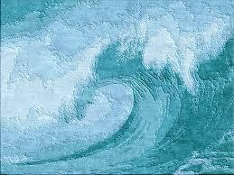 image of nautical turquoise area rug