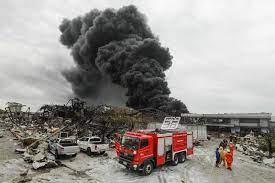 994 หมู่บ้าน 1,120 โรงงานกระทบ ไฟไหม้โรงงานกิ่งแก้ว กรมควบคุมมลพิษ  เปิดสาเหตุระเบิด กระจายไกล : PPTVHD36