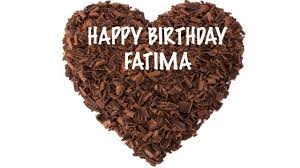 Fatima Chocolate Happy Birthday Fatima Youtube