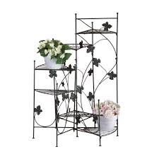 tiered iron plant stand. Iron Plant Standrustic Metal Standmulti Tiered Standgarden On Stand