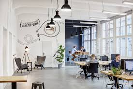 interior of office. A Lot Of Care Should Be Given To Spaces For Walking And Movement The  Staff While Considering About Office Interior. Interior