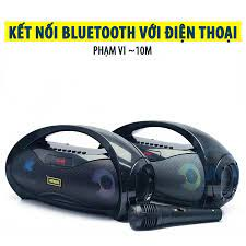 Loa Kẹo Kéo Karaoke Bluetooth Mini KIMISO S2 - Vương Phong
