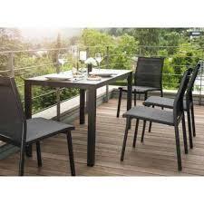 Ensemble table et chaise de jardin Balcon de Kettler