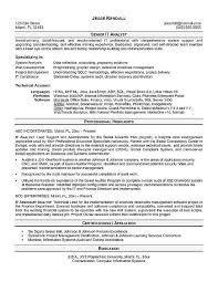 System Analyst Sample Resume