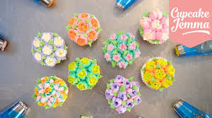 How To Use Russian Piping Nozzles Cupcake Jemma