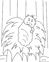 Nativity Manger Coloring Page Scene Pages Printable Color