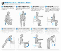 easy exercises you can do at your desk
