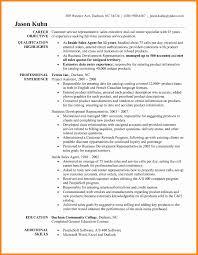 Customer Service Representative Job Description Resume Sample