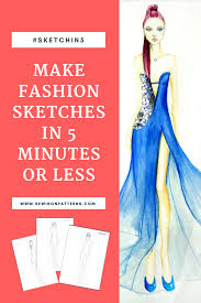 How To Make Fashion Design Dress Fashion Design I Fashion Sketching For Beginners I Fashion