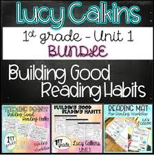 Lucy Calkins My Reading Mat Worksheets Teaching Resources