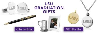 white placeholder image lsu graduation gifts for her and for him