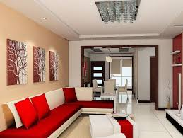 red white sofa. Fine Sofa Exotic Modern Living Room Design With Red Sectional Sofa And White Ceramic  Floor Tiles Intended E