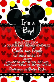 Make Your Own Mickey Mouse Invitations Create Mickey Mouse Invitations Online Mickey Mouse First Birthday