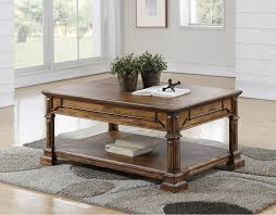 To refinish a coffee table, start by sanding off the old finish. Legends Furniture Barclay Coffee Table Wendell S Furniture Colchester Vt