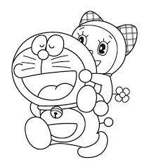 Tuyển chọn bộ tranh tô màu Doremon đáng yêu dành cho bé