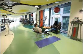 google dublin office. gym google dublin office