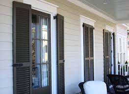 Exterior Exterior Faux Shutters With Flat Panel Exterior Shutters - Faux window shutters exterior