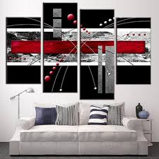 Red Black And Grey Bedroom Popular Red Black And Grey Wall Art Buy Cheap Red Black And Grey