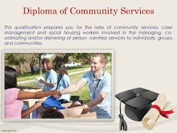 study in diploma courses in colleges in austral  diploma of community services