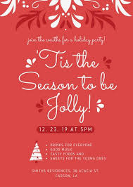 Work Christmas Party Flyers Christmas Party Flyer Templates By Canva