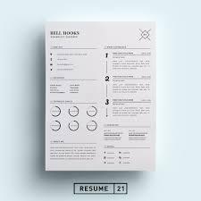 Minimal Designer Resume Template Cv Resume Templates Creative