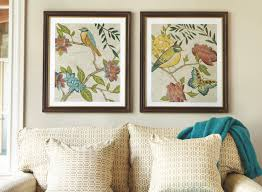 decorate a large wall over a sofa