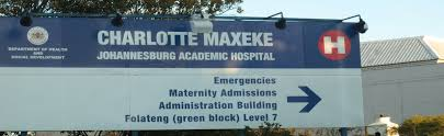 charlottemaxeke academic hospital is referring patients to district hospitals in order to address the backlog of operations and reduce the number of
