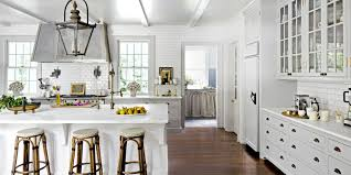 4 All White Kitchen Designs