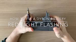 Dyson Dc59 Red Light Blinking How To Fix Or Repair A Dyson V6 Battery With Red Light Flashing Bms Replacement With Subtitles