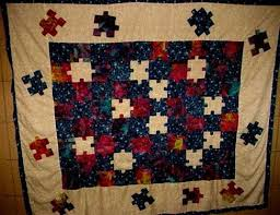 33 best Quilts - Puzzle Pieces images on Pinterest | Quilt ... & Jigsaw Puzzle Quilt - Quilting Daily Adamdwight.com